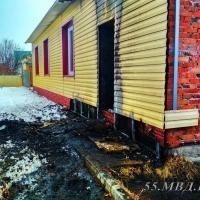 В Омской области наркоман подозревается в поджоге дома
