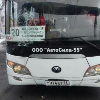 Один из частных перевозчиков Омска незаконно работал на маршруте №20