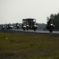 Омск захлестнула «Волна памяти» по погибшим байкерам