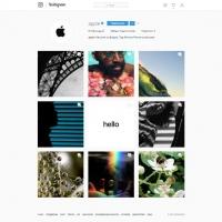 Компания Apple зарегистрировалась в Instagram