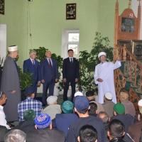 В Омских мечетях прошли богослужения в честь праздника Курбан-байрам