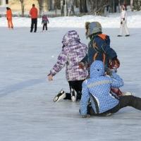 Администрация Омска создала карту катков и лыжных трасс города