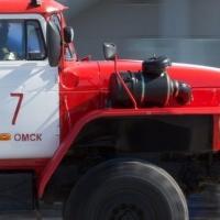 В Омской области в гараже загорелись автобусы
