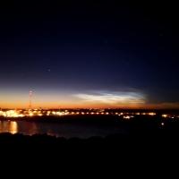 Редчайшее явление - светящиеся облака на Омском [Фото]