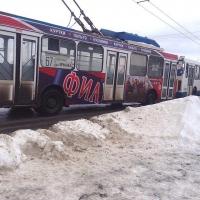 Вечером в Омске мало пассажиров