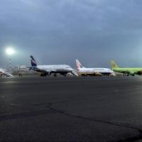 В омском аэропорту при ремонтных работах территории пропали 2,3 миллиона рублей