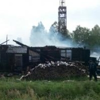 В Омской области пожарные 6 часов тушили почтовое отделение