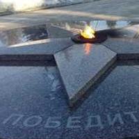 К 9 мая на треснувшей плите Вечного огня в Омске проведут косметический ремонт