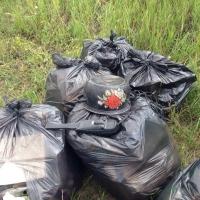 В Омске штрафуют за неубранный мусор