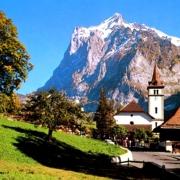Швейцария зимой и летом