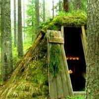 В лесу под Омском мужчины нашли тело отшельника в шалаше