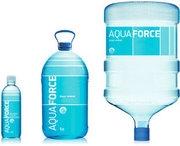 Питьевая бутилированная вода от компании AQUAFORCE - это прекрасное качество и бесплатная достав