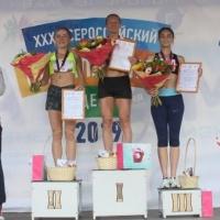 Марина Ковалёва пришла первой в омском «Цветочном забеге»