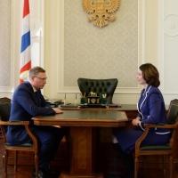 Мэр Омска впервые отчитается перед губернатором