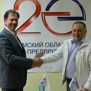 Бизнесмены согласились на сотрудничество