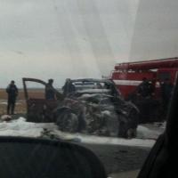Под Омском в аварии пострадала пятилетняя девочка