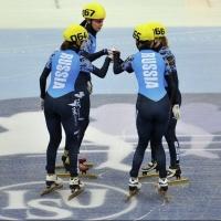 Омские шорт-трекисты выиграли на Кубке России