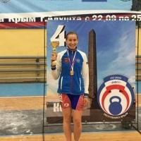 Выступающая за Омский регион спортсменка установила новый рекорд России в гиревом спорте