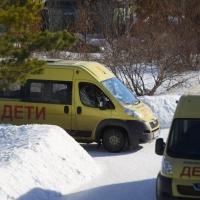 При плохой погоде в новогодние каникулы не будут возить детей в Омской области
