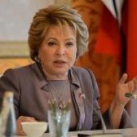 Матвиенко: Сложная экономическая ситуация в РФ стабилизировалась