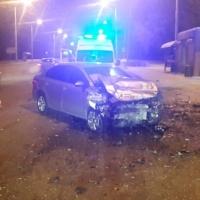 В центре Омска из-за ДТП двух иномарок пострадали три человека