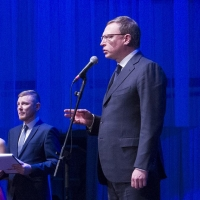 Бурков поздравил ОмГТУ с 75-летием