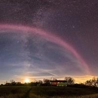 В небе над Канадой наблюдалось необычное явление