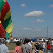 На авиашоу в Калачево упал воздушный шар
