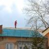 В Омске разбился кровельщик