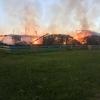 В Омской области сгорела библиотека и клуб