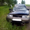 В Омской области погиб водитель автомобиля, опрокинувшегося в кювет