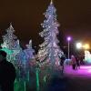 В Омске начали возводить ледяной Кремль