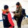 Омичи продолжают выходить на лед в запрещенных местах