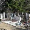 В Омской области подросток получил 100 часов обязательных работ за повреждение надгробий