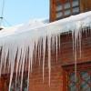 В Омске открыт сезон сосулек и схода снега с крыш