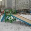 В Омске под Новый год появились новые горки
