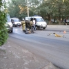 В Омске мотоциклист разбился об «Жигули»
