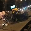 Серьезное ДТП возле «Арены-Омск»: три иномарки всмятку