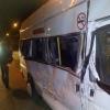 В Омске на Дианова столкнулись автобус и маршрутка
