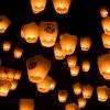 Омичи вместе запустят фонарики в небо
