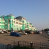 На Привокзальной площади в Омске создадут 60-метровую «живую изгородь»