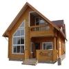 Дом из бруса - классический вариант загородного жилища