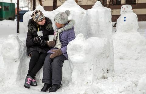 Снежный трон (автор – Денис Гавриленко)
