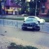 Забор спас омичку с ребенком от наезда BMW
