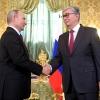 Путин при встрече нового президента Казахстана пригласил его на форум в Омск