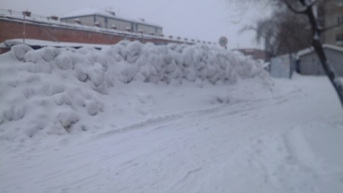 Снежная стена