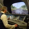 Глава Минтранса РФ в Омске стал машинистом виртуального «Сапсана»