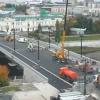 На Юбилейном мосту в Омске начали делать тротуары