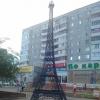 В Омске Эйфелева башня появилась у Первомайского рынка