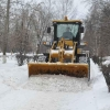 Омские дорожники установили рекорд по объему убранного снега за сутки